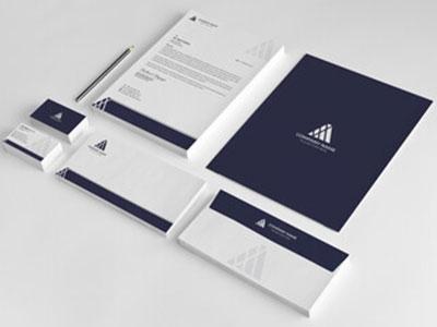 名刺、封筒、会社案内、ノベルティや各種案内状、挨拶状